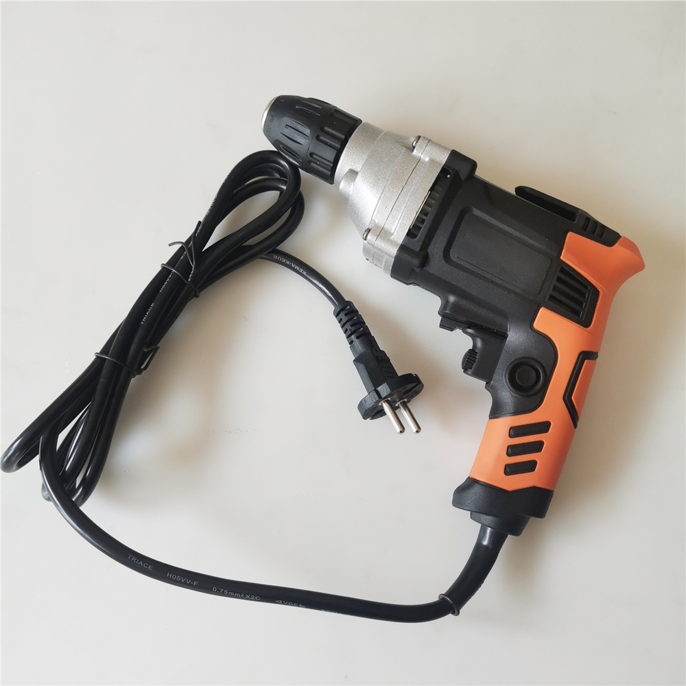 220V 780W EU Plug Multifunction Torque Electric Drill High Power Double Reduction Electric Hand Drill For Perforator