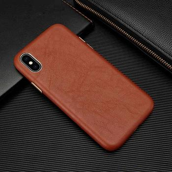 Luxury Leather Phone Case For iPhone XSMAX XR XS X 8 7 Plus 11 Pro Max 11 Pro Ultra-Thin Sheepskin Back Cover For iPhone 7 Coque
