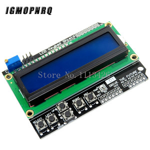 Image 3 - Mega 2560 r3 for arduino kit + HC SR04 +breadboard cable + relay module+ W5100 UNO shield + LCD 1602 Keypad shield