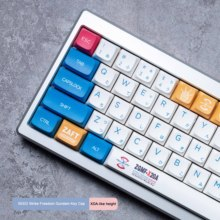 SEED Strike Freedom Gundam keycaps XDA height pbt material Dye sublimation process PBT Sublimation keycaps