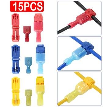 Terminal de cable conector eléctrico a prueba de agua, conectores rápidos de cable eléctrico, terminal a presión, bloqueo de empalme, conector de cable a presión, 1