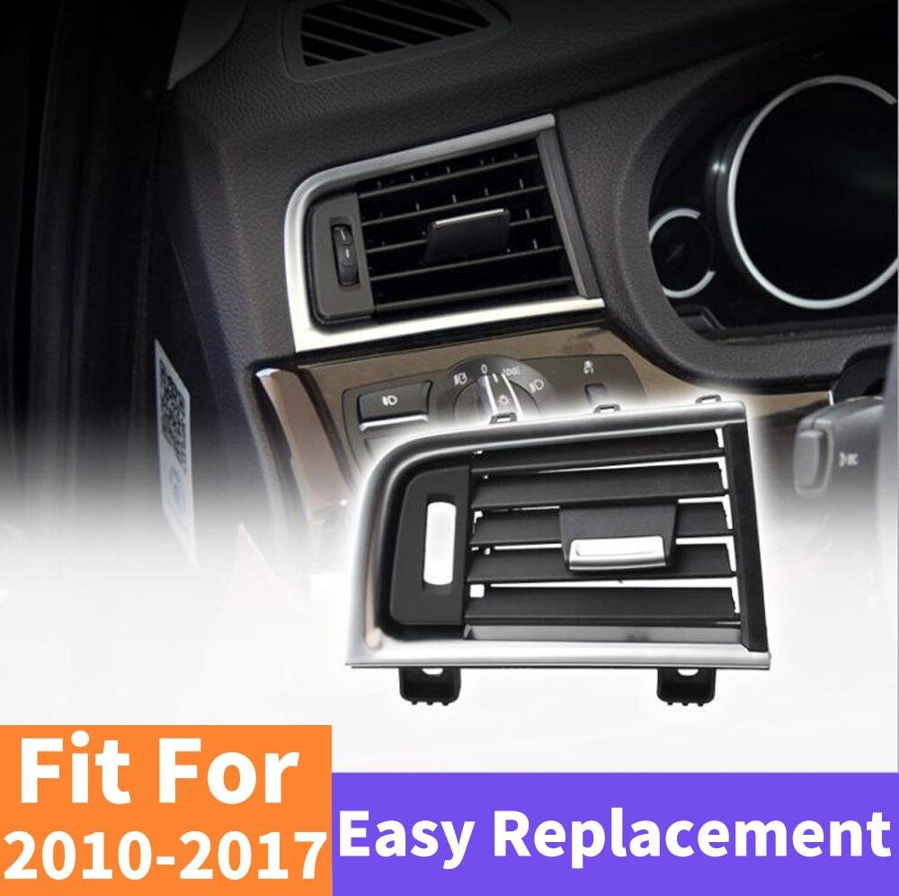 Voiture arrière rangée A/C climatiseur Chrome intérieur sortie évent tableau de bord Grille pour BMW série 5 GT 528 535 F07 2010 2017 - 3