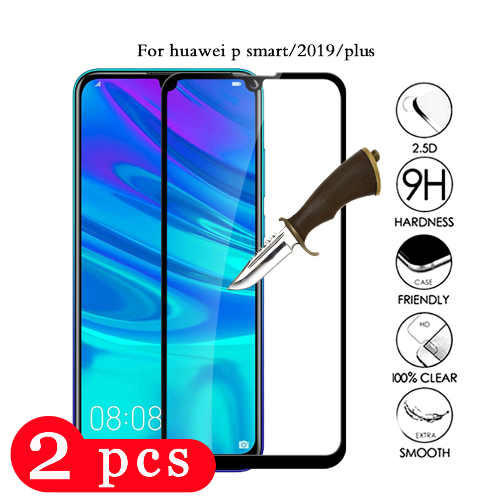 2Pcs 9H for <font><b>huawei</b></font> <font><b>p</b></font> <font><b>smart</b></font> plus <font><b>2019</b></font> 2018 tempered glass <font><b>p</b></font> <font><b>smart</b></font> pro Z phone screen protector protective film glass <font><b>smartphone</b></font> image