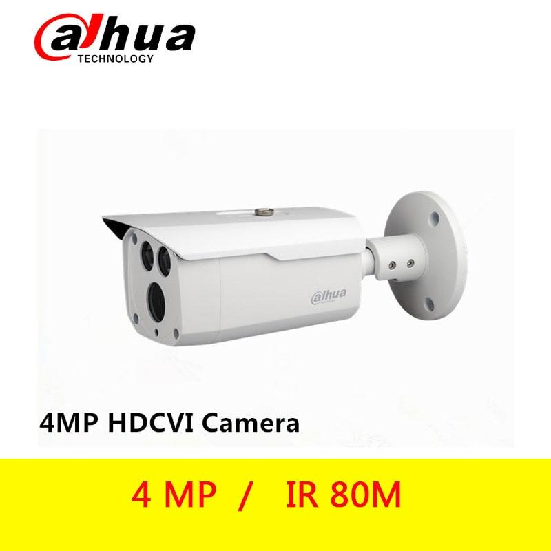Original Dahua HAC-HFW1400D 4MP HDCVI IR 80M Bullet Camera DH-HAC-HFW1400D Gun Camera
