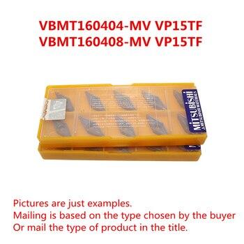 MITSUBISHI VBMT160404-MV VP15TF VBMT331MV/VBMT160408-MV VP15TF VBMT332MV CNC Turning Milling Carbide inserts Free shipping