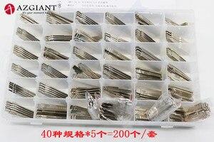 Image 2 - (40 Type 200 Stuks) gegraveerd Contrast Lijn Schaal Scheren Tanden Blank Autosleutel Snijtanden Blade Key Alle Merken Slotenmaker Tool