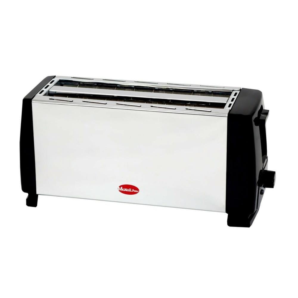 Grille-pain grille-pain métal 2 fentes longues 4 tranches de pain grillé métal garantie MP-3330