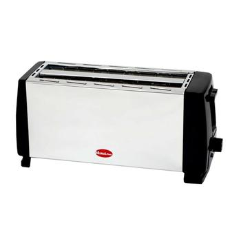Toaster toaster METALICA 2 slots long 4 toast slices METAL waranty MP-3330 electric toaster toaster 4 slices extra reinforced material good quality mp 3325