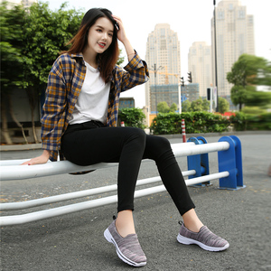 Image 5 - STQ Autumn Women Flats Woven Shoes Breathable Mesh For Ladies Loafers Shoes Women Light Weight Casual Slip On Sneaker Shoes 1938