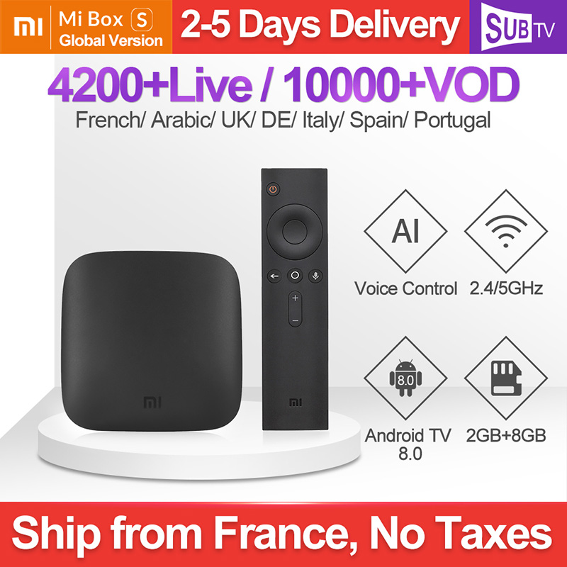IPTV Francia Italia XiaoMi TV Box 4K Portoghese Spagnolo IPTV Abbonamento Mi Box 3 Arabo Turchia Danese Polacco Canada IP TV SUBTV-in Set box TV da Elettronica di consumo su AliExpress - 11.11_Doppio 11Giorno dei single 1