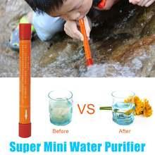 Портативный очиститель воды персональный фильтр очистки для