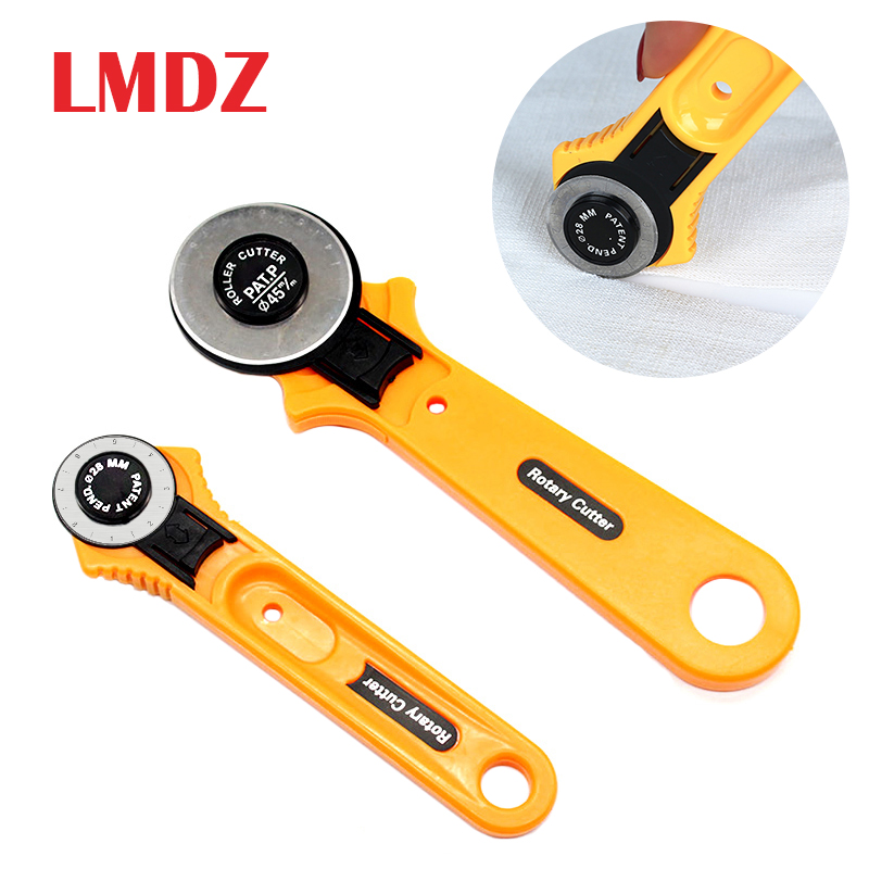 LMDZ Portable Loop Rotate Sewing Cutter Professional Tailor Premium Sewingscissors  DIY Cutting  Tool With Handle Safety