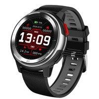 Смарт часы DT68 полный сенсорный экран IP68 водонепроницаемый низкая мощность HD экран PPG + ЭКГ активности фитнес трекер Smartwatch