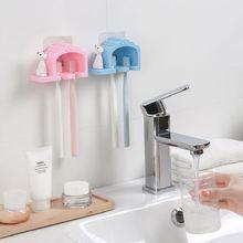 Фламинго Зубная щётка держатель Ванная комната многофункциональный