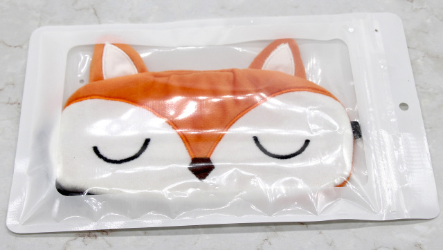 Fox Sleeping Mask Cute Cartoon Eye Cover Plush Sleep Eye Mask Travel Rest Eyeshade Kids Eye Band Blindfolds Sleep Aid Eyepatch 4