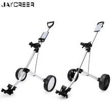JayCreer 2 Wheels Portable Folding Golf Pull Carts