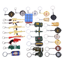 2020 New 98K helmet pan weapon model Key chain Pendant PUBG game peripheral car bag key chainring key ring small gift creative pubg key chainring pan metal key chain car pendant game key ring surrounding men s and women s small gifts