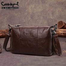 Cobbler Legend Hobo Women Bag Female Ladies' Genuine Leather Tassel Handbag Shoulder Crossbody Bags Small Tote Bag Purse цена
