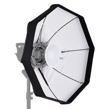 Andoer 8-полюс 60 см профессиональный белый складной Красота тарелка-софтбокс высокого качества с быстрой установкой Bowens Mount для студийной стробоскопической вспышки Bowens светильник