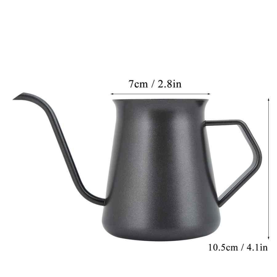 Espresso Moka Pentola Da Cucina Domestica In Acciaio Inox Manuale A Mano di Caffè Bollitore Pentola Versare Sopra Bollitore 400ml