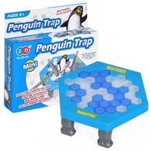 Penguin Ice Kids Puzzle Game Break Ice Block Hammer Trap Classic Party Game Toys Penguin Trap Interactive Funny Game Chidren