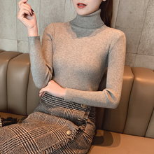 2019 New Winter Women Sweaters Fashion Turtleneck Batwing Sleeve Pullovers Loose Knitted Female Jumper Tops