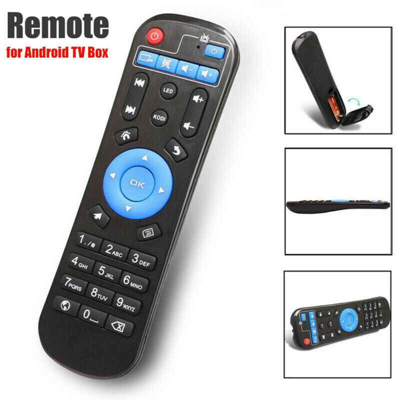 Wireless Remote Control Pengganti untuk Mxq/Mxqpro/MXQ-4K/M8S/M8N/H96Pro/T9/X96 /X96Mini Android Smart TV Box Remote Control