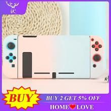 Protective Case Joy Con Controller Shell Hard Housing Full Cover Shell For Nintend Switch Game Console Colorful Shell недорого