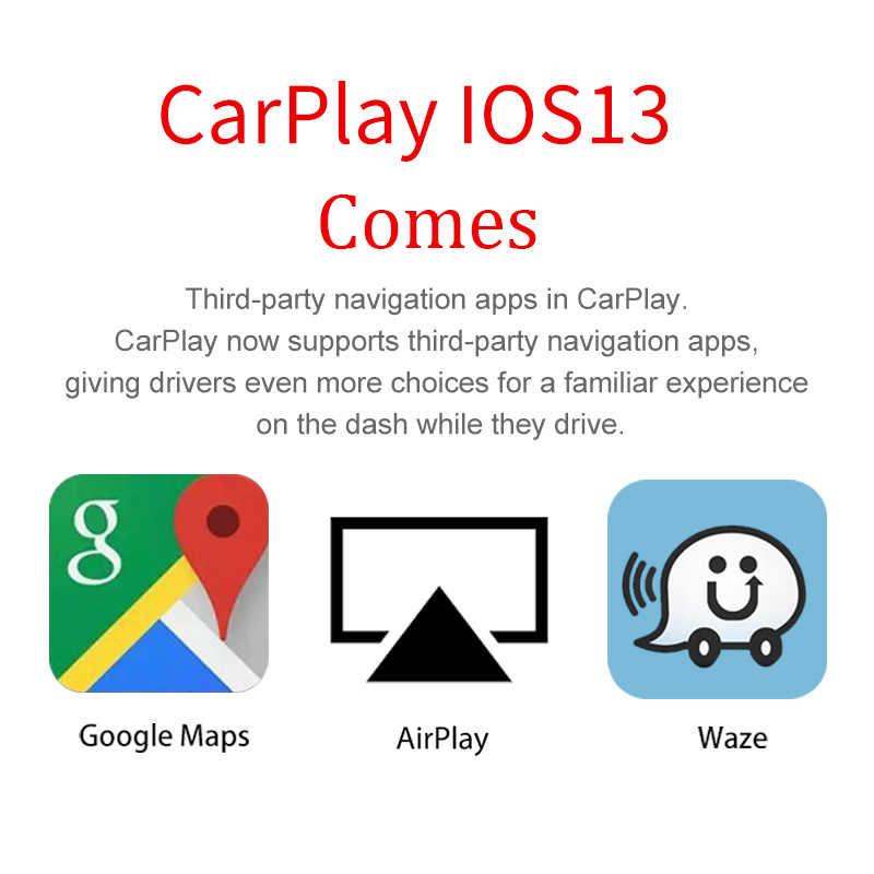 Carlinkit zmodyfikowany moduł Carplay Mirrorlink dla BMW 1/2/3/4/5/MINI X1/X2/X3/X4/X5/X6 z systemem NBT wried Carplay/Android Auto