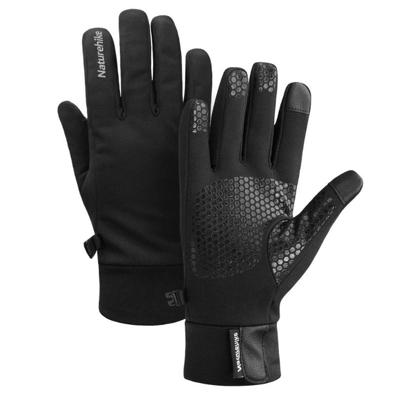 Winter Warm Windproof Waterproof Anti-slip Thermal Touch screen Gloves Black UK
