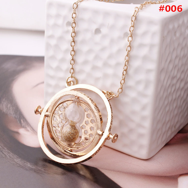 Pendant Necklace Jewelry Turner Gift Sand-Glass-Time Silver-Alloy Gold Personality Women title=