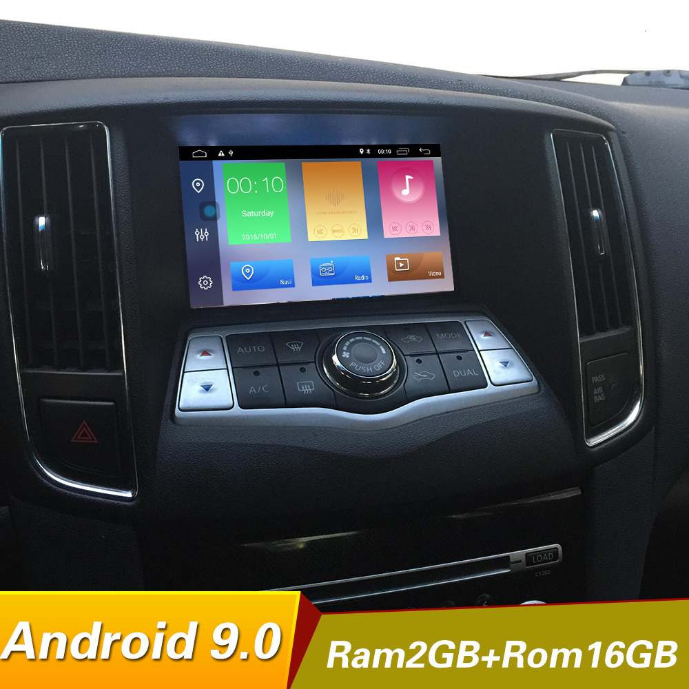 Quad core android 9.0 Car Dvd Player For NISSAN Teana J32 2008~2012 for nissan maxima A35 GPS Navigation Stereo BT AUX image