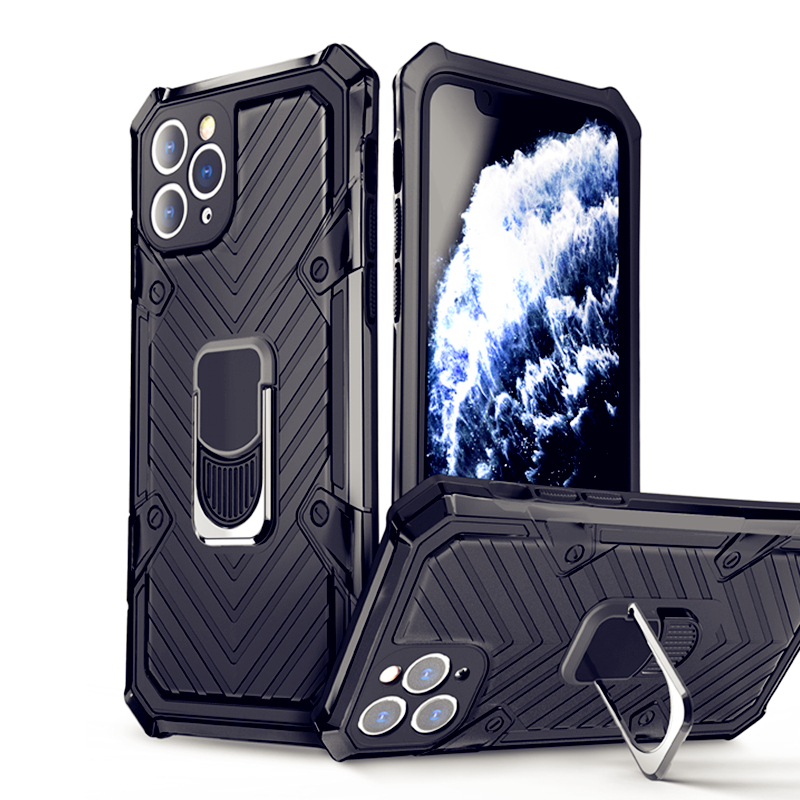 Luxury Magnet PC Case For iPhone 12 11 Pro Max Armor Shockproof Cover For IPhone XR XS Max X SE 2020 6 7 8 Plus Silicon Cases
