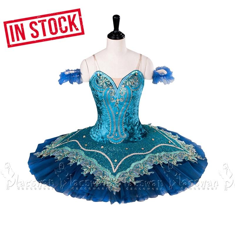IN STOCK Sleeping Beauty ballet costume Sapphire Fairy pancake tutu Gamzatti blue ballet tutu costumes Medora classical tutu