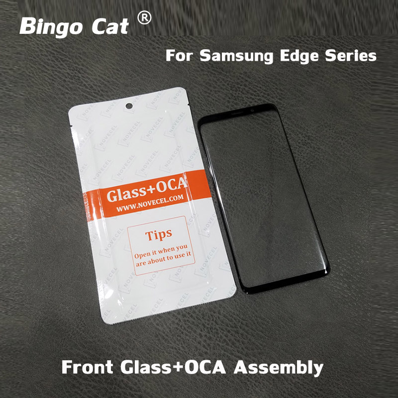 10pc 2 in 1 Phone <font><b>Screen</b></font> Glass With OCA For <font><b>Samsung</b></font> Galaxy S8 S9 <font><b>S10</b></font> plus G950 Note 8 9 <font><b>LCD</b></font> Touch <font><b>Screen</b></font> Panel Lens Replacement image