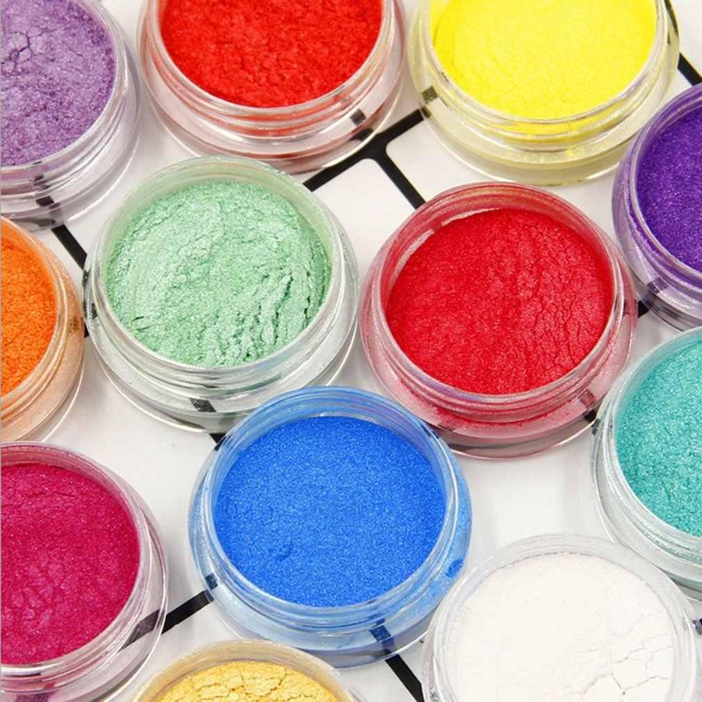 3G/botella DIY Slime Kit Glitter polvo relleno pigmento Decoración Juguetes perla polvo tinte Fluffy Slime accesorios niñas regalo