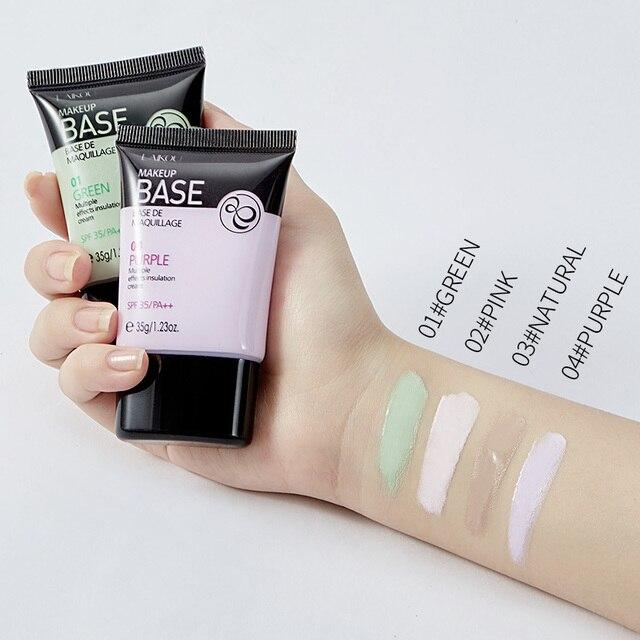 Laikou Full Cover 4 Color Base Concealer Makeup 35g Eye Dark Circles Cream Face Corrector Waterproof Make Up Korean Cosmetic