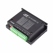 Hot ! CNC Single Axis TB6600 0.2-5A Two Phase Hybrid Stepper Motor Driver Controller Worldwide Store High Quality(China)