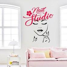 Nail Studio Wall Sticker…