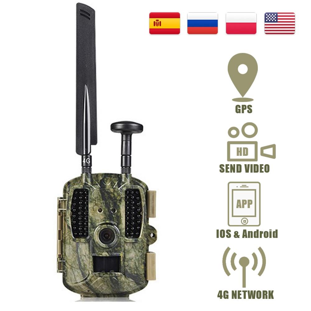 Balever BL480L-P 4G охотничья фотоловушка s 940nm IR для дикой природы, леса, охоты, камеры 12MP HD, дикая игра, камера s
