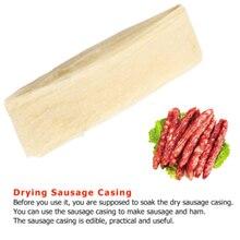 VOGVIGO 50mm Packaging Pork Intestine Edible Sausage Casings for Sausage Hot Dog Hamburger Sausage Tools For Sausage Tube Casing tom s sausage lion