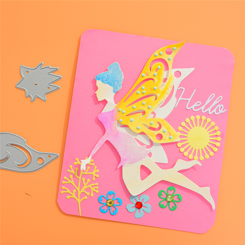 angel Metal Cutting Dies and stamps for Scrapbooking New 2019 Die Cuts for Card