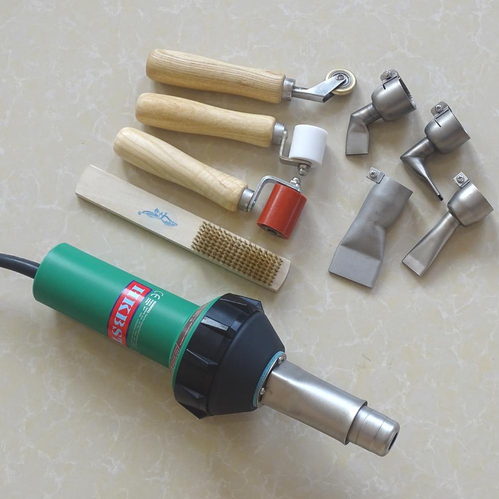 Pistola termica per saldatura di plastica a saldare ad aria calda - Attrezzatura per saldare - Fotografia 3