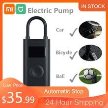 Xiaomi mi mijia portátil bomba de ar digital compressor de detecção pressão dos pneus inflator elétrico bomba para moto carro da motocicleta