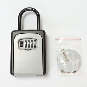 Image 5 - New Door Handle Key Box Password Decoration Code Lock Delivery Key Storage Password Boxes