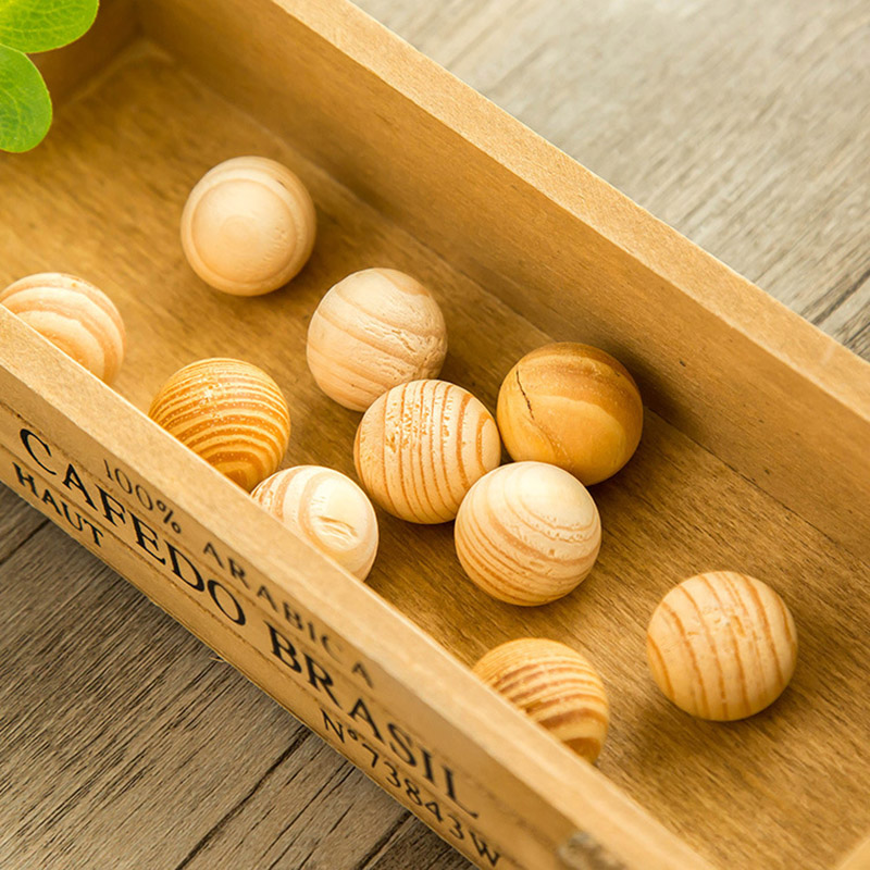 5pcs Natural Cedar Wood Moth Balls Moistureproof Deworming Fragrant Wood Mothball Wardrobe Drawer Pest Control Supplies(China)