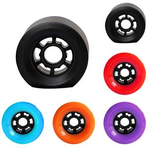 1Pc 83x52mm Professional Longboard Wear-resistant Electric Skateboard Wheels 5 color Flashing Roller Replacements Kit