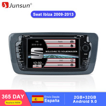 Junsun 2 din Car Radio car dvd player For Seat Ibiza 2009 2010 2011 2012 2013 Android 9.0 GPS navigation 4+64GB Optional(China)