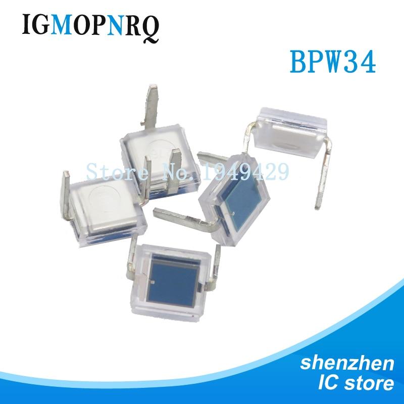 10PCS/lot photodiode BPW34
