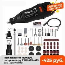 HILDA – perceuse électrique, broyeur Dremel, graveur, stylo, broyeur, Mini perceuse, outil rotatif électrique, rectifieuse, accessoires Dremel